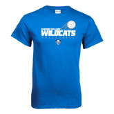Royal T Shirt-Volleyball Swoosh