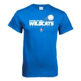 Royal T Shirt-Volleyball Swoosh