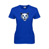 Ladies Royal T-Shirt-Wildcat Head