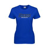 Ladies Royal T-Shirt-Daemen Wildcats