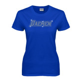 Ladies Royal T-Shirt-Daemen Rhinestones