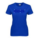 Ladies Royal T-Shirt-Daemen Rhinestones