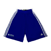 Adidas Climalite Royal Practice Short-Daemen College Wildcats w/ Head