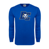 Royal Long Sleeve T Shirt-DC Wildcat