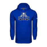 Under Armour Royal Performance Sweats Team Hoodie-Official Logo