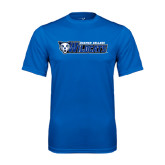 Syntrel Performance Royal Tee-Daemen College Wildcats w/ Head