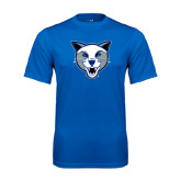 Syntrel Performance Royal Tee-Wildcat Head