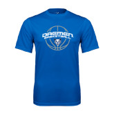 Performance Royal Tee-Daemen Basketball w/ Ball