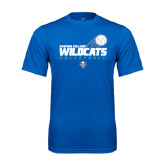 Performance Royal Tee-Volleyball Swoosh