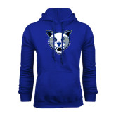 Royal Fleece Hoodie-Wildcat Head