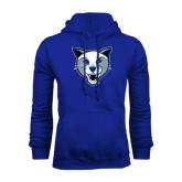 Royal Fleece Hoodie-Wildcat Head