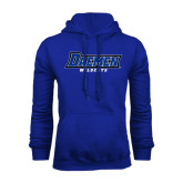 Royal Fleece Hoodie-Daemen Wildcats