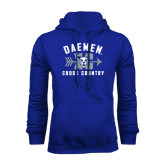 Royal Fleece Hoodie-Cross Country XC