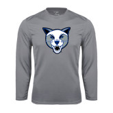 Syntrel Performance Steel Longsleeve Shirt-Wildcat Head