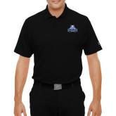 Under Armour Black Performance Polo-Official Logo