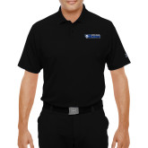 Under Armour Black Performance Polo-Daemen College Wildcats w/ Head