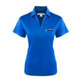 Ladies Royal Performance Fine Jacquard Polo-Daemen College Wildcats w/ Head