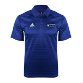 Adidas Climalite Royal Jaquard Select Polo-Daemen College Wildcats w/ Head