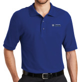 Royal Easycare Pique Polo-Daemen College Wildcats w/ Head