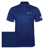 Adidas Climalite Royal Grind Polo-Daemen College Wildcats w/ Head