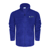 Columbia Full Zip Royal Fleece Jacket-Daemen College Wildcats w/ Head