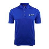 Royal Dry Mesh Polo-Daemen College Wildcats w/ Head