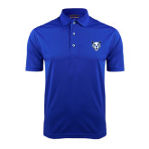 Royal Dry Mesh Polo-Wildcat Head
