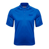 Royal Textured Saddle Shoulder Polo-Daemen Wildcats