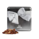 Deluxe Nut Medley Silver Medium Tin-Official Logo Engraved