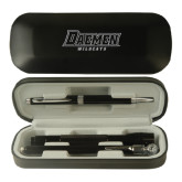 Black Roadster Gift Set-Daemen Wildcats Engraved