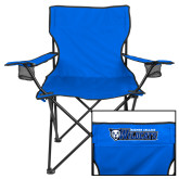 Deluxe Royal Captains Chair-Daemen College Wildcats w/ Head
