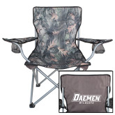 Hunt Valley Camo Captains Chair-Daemen Wildcats
