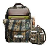 Heritage Supply Camo Computer Backpack-Daemen Wildcats