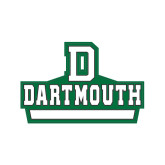 Medium Decal-D Dartmouth Stacked