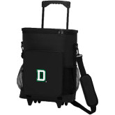 30 Can Black Rolling Cooler Bag-Dartmouth D