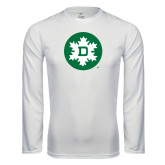 Syntrel Performance White Longsleeve Shirt-Dartmouth Ski