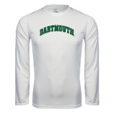 Syntrel Performance White Longsleeve Shirt-Arched Dartmouth