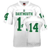 Replica White Adult Football Jersey-#14