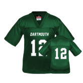 Youth Replica Dark Green Football Jersey-#12