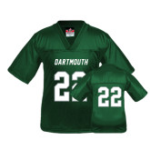 Youth Replica Dark Green Football Jersey-#22