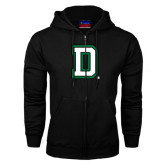 Black Fleece Full Zip Hood-Dartmouth D
