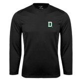 Syntrel Performance Black Longsleeve Shirt-Dartmouth D