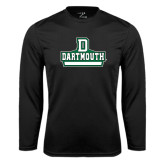 Syntrel Performance Black Longsleeve Shirt-D Dartmouth Stacked