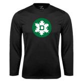 Syntrel Performance Black Longsleeve Shirt-Dartmouth Ski