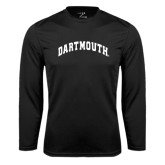 Syntrel Performance Black Longsleeve Shirt-Arched Dartmouth