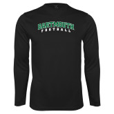 Syntrel Performance Black Longsleeve Shirt-Football
