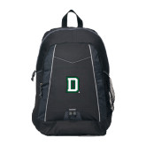 Impulse Black Backpack-Dartmouth D