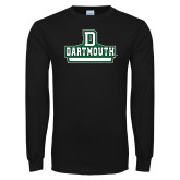 Black Long Sleeve T Shirt-Dartmouth