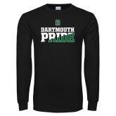 Black Long Sleeve T Shirt-Dartmouth Pride