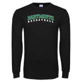 Black Long Sleeve T Shirt-Basketball